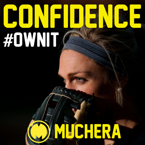 #CONFIDENCE > #talent. Think about the guy who can hit a baseball 500 feet, or dunk a basketball, or run a 4.4 forty. That's sheer talent. Now think about the hard work you've put in, the practice time, the blood, sweat and tears. Think about the times you've struggled and the frustrations you've experienced along the way. Think about all you've accomplished and all you've yet to accomplish. Who cares about your opponents' talent!! That's confidence! That's #Muchera #TaylorHoagland #OwnIt