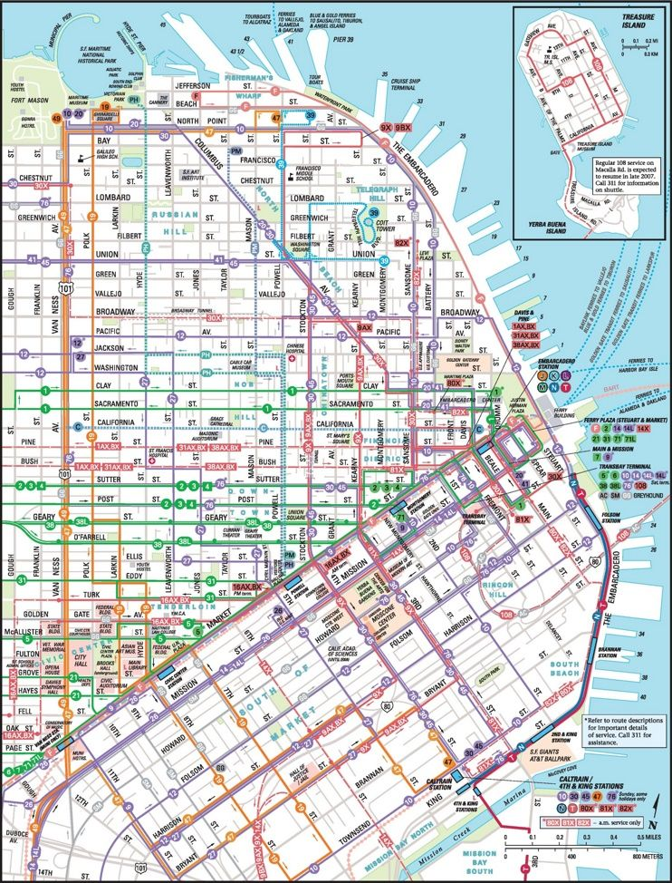 San Francisco Red Light District Map
