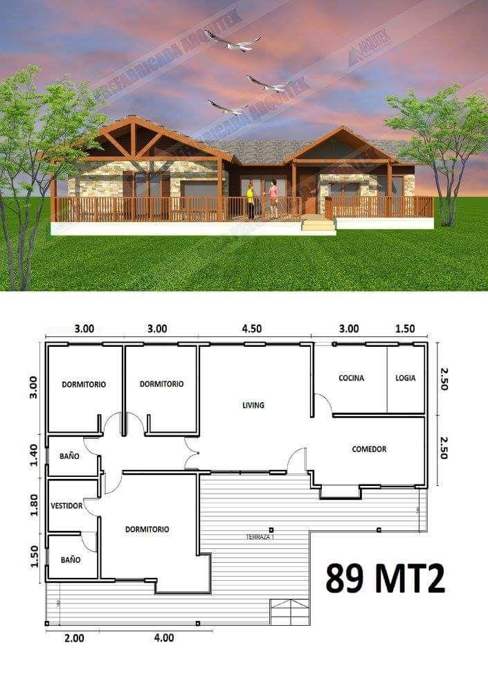 Plano Casa Para Mampili Planos De Casas Prefabricadas Planos De Casas De Campo Modelos De Casas Prefabricadas