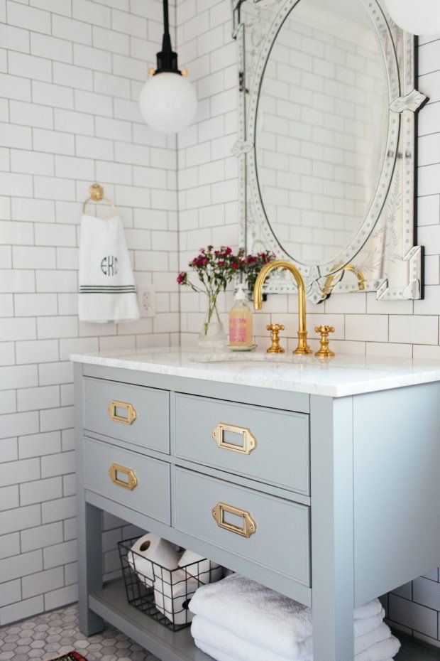 Montgomery Campaign Drawer Pull | Pinterest | Bathroom inspiration ...