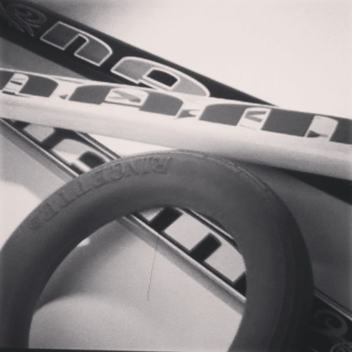 Ringette stick and ring