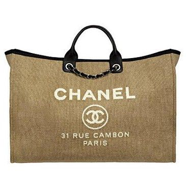 Chanel Cabas Ete 2017 Hangbag My Friend Was Carrying This Bag Yesterday And I So Jealous Of It Almost Threw Up