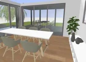 Cr ez votre plan maison 3d en toute simplicit avec notre - Logiciel en ligne amenagement interieur ...