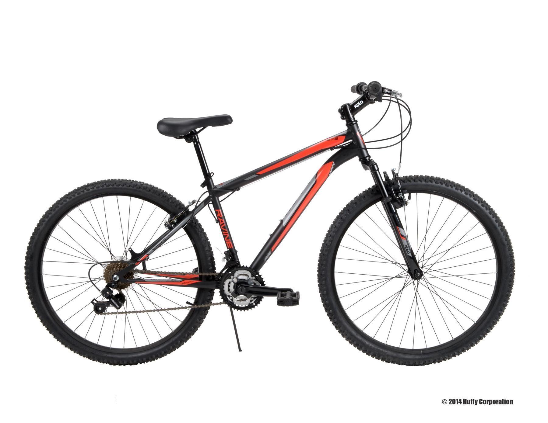 Huffy 27 5 Ravine Men S Bike Black Bicycles Mens Mountain