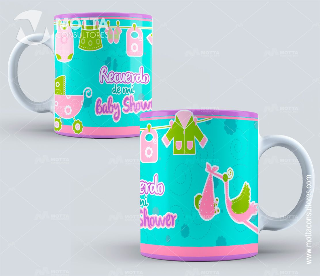 5047c8555 Diseños Sublimación BabyShower Para Taza -sublimation templates - mug  template - sublimation designs - Bautizos - Diseño Baby ...