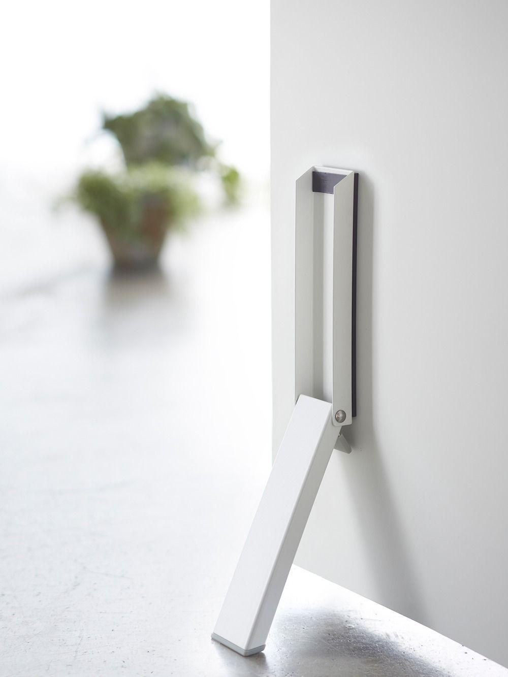 Magnetic folding door stopper smart