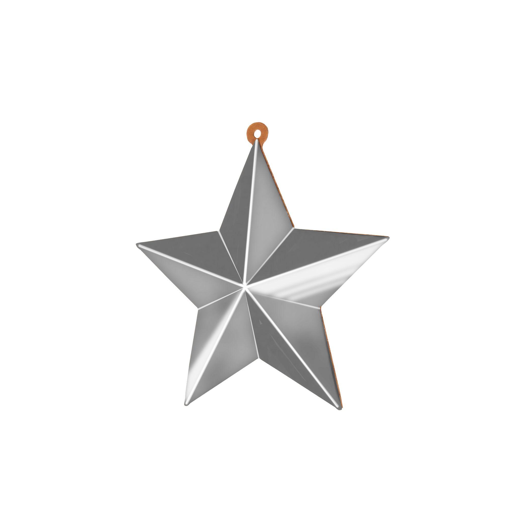 Stella Di Natale Tridimensionale.Stella Di Natale 3d M A003116 Cardboard Christmas Star