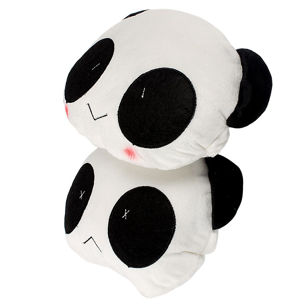 1 Pair Lovely Panda Pattern Car Interior Accessories Seat Covers Styling High Quality Headrest