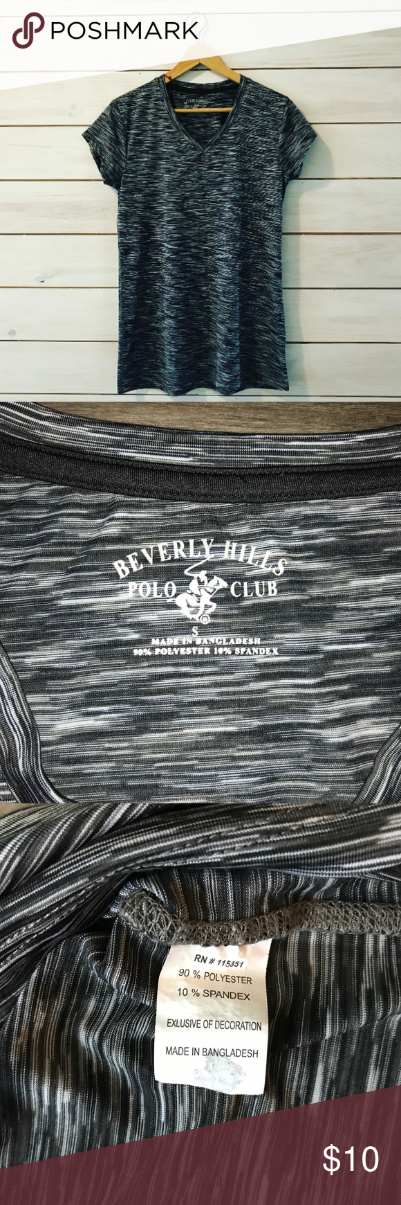 Beverly Hills Polo Club TShirt Polo club, Shirts