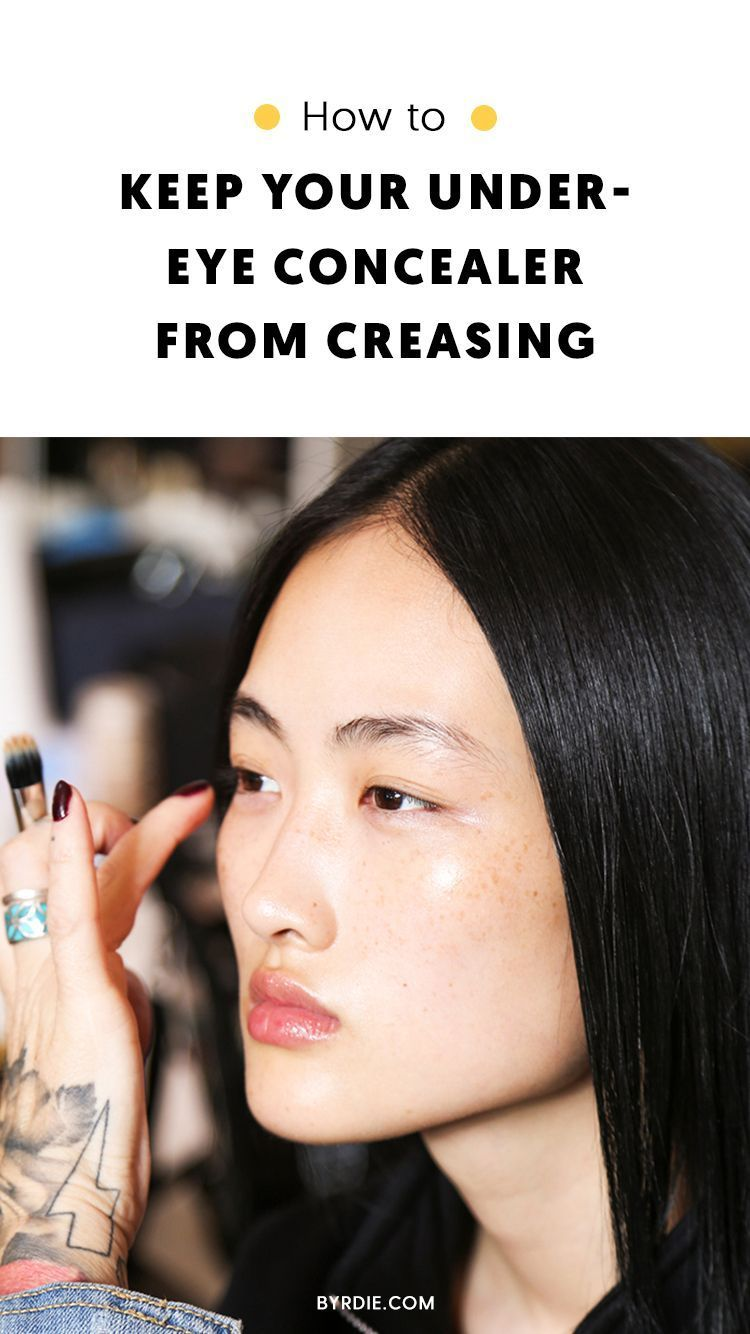 Concealer Creasing: How To Keep Concealer From Creasing