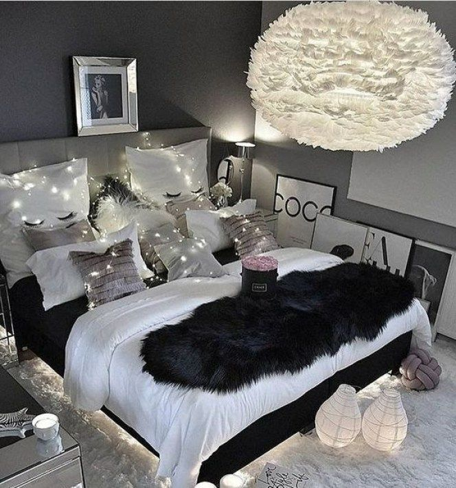 Adorable warm and fluffy fur winter home decoration ideas is part of  - Adorable warm white and fluffy winter home decoration ideas Winter is fluffy white drifts and frost  But at home, these days really want light, heat and no cold… That is why everyone likes so…