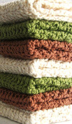 Crochet Dishcloth Crochet Kitchen Bath Pinterest