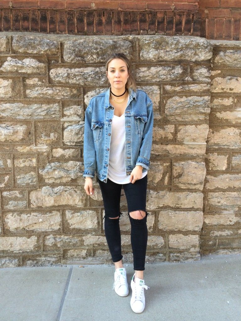 719f9a916d STYLE ADVICE OF THE WEEK  The Oversized Denim Jacket