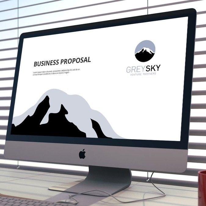 create a powerpoint template for a new venture capital firmaz, Presentation templates