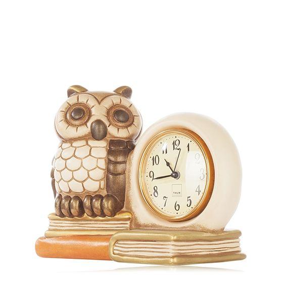 Owl Clock by Thun
