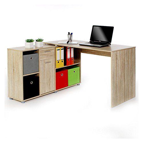 Eckschreibtisch büro  Dreams4Home Schreibtisch Pro PC Tisch Büromöbel Büroeinrichtung ...
