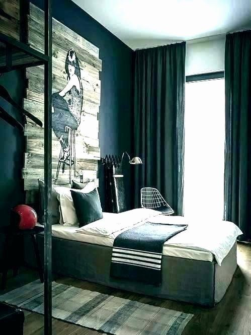 Mens Bedroom Decorating Ideas Elegant Exciting Young Male ...
