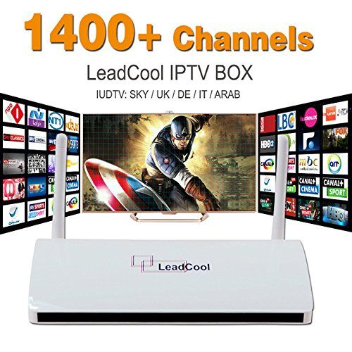 Arabox Best Arabic Europe HD IPTV Box Android 1300 Channels No Monthly Fee New