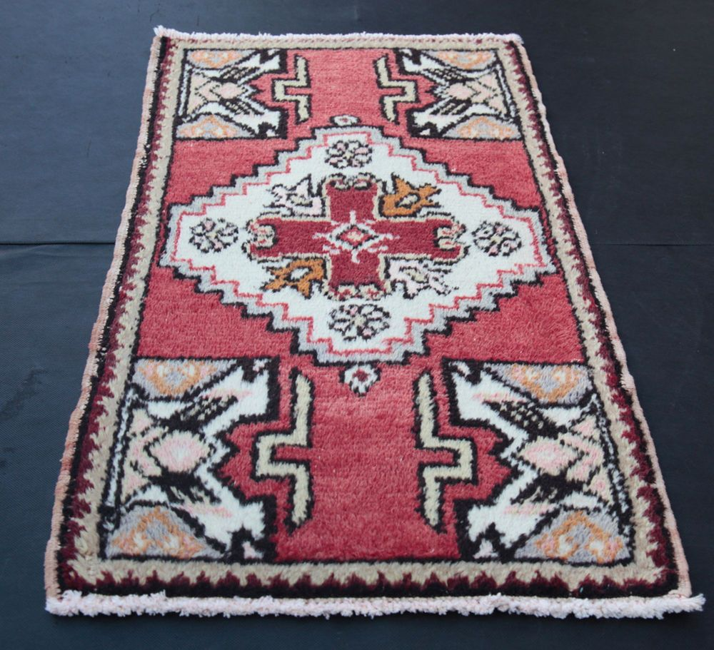 Muted Red Rugs Wool Carpets Turkish Area Small