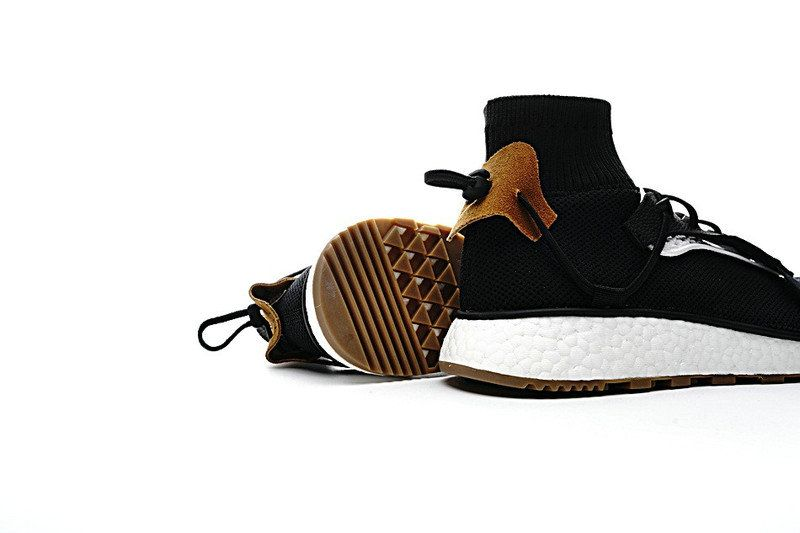 5395eca7c737 Really Cheap Alexander Wang x Adidas Run boost Core Black Coffee Size US 7  9 Euro 40.5 42.5 44