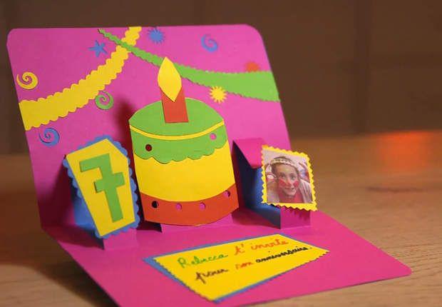 Carte d'invitation à faire soi-même | Carte invitation anniversaire, Carte anniversaire et ...