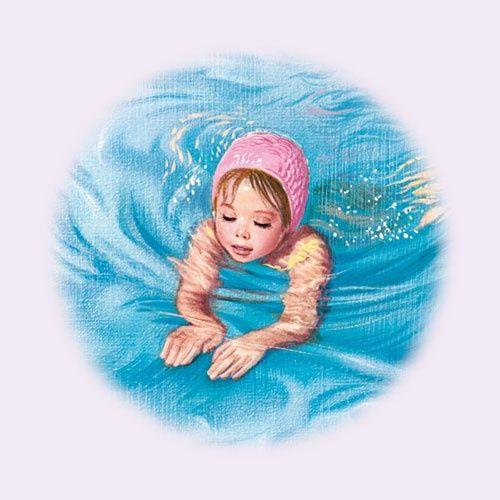 bathing.quenalbertini: Swiming by Marcel Marlier