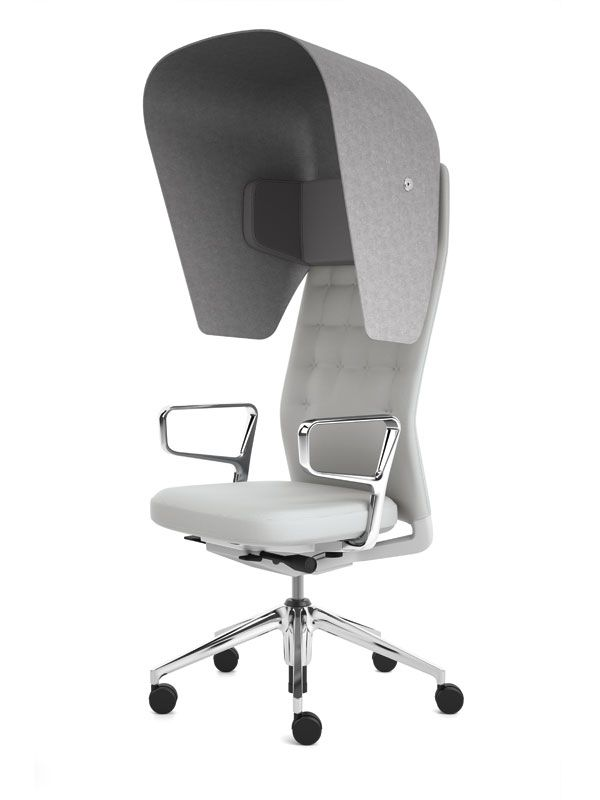Soundproof desk chair  Kantoor DWR  Pinterest  Chairs Office