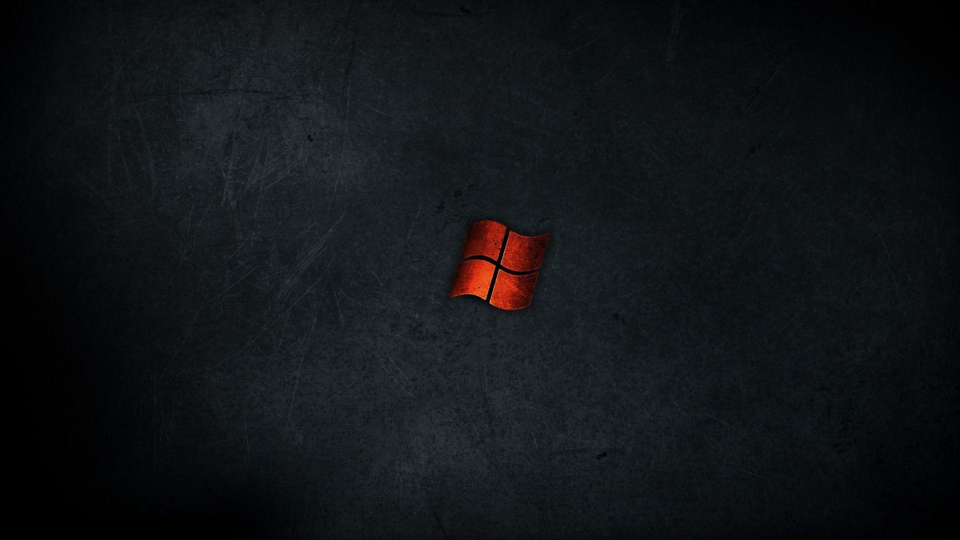 Minimalistic Dark Red Metal Windows Wallpaper Wallpaper Windows 10 Windows Wallpaper 4k Wallpapers For Pc