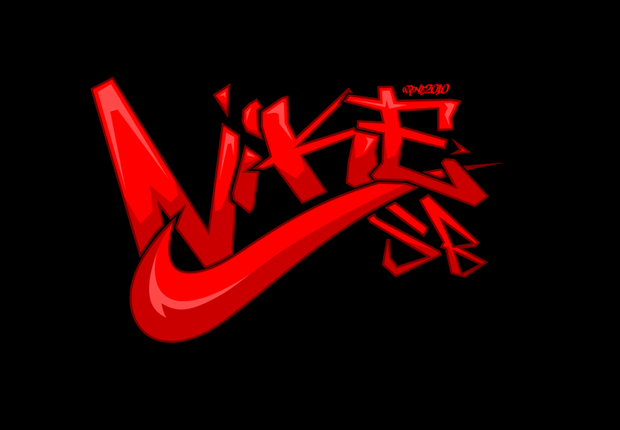 Nike sb graffiti logo color by elclon viantart on
