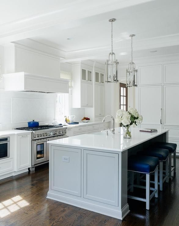 Best Exquisite Kitchen Features White Shaker Cabinets Paired 400 x 300