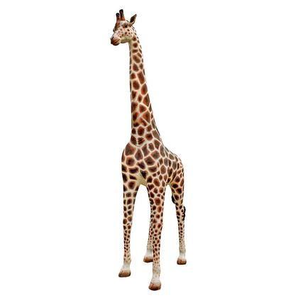 NE90070 Malee Grand Scale Adult Giraffe Statue Giraffes