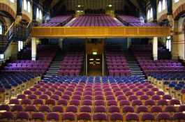 The Concert Hall At The Cambridge Corn Exchange An