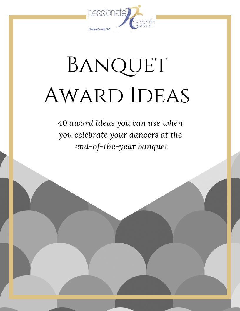 10 Ideas To Include In Your End Of The Year Banquet Passionate Coach Cheer Award Dance Team Fundraisers Cheerleading Award