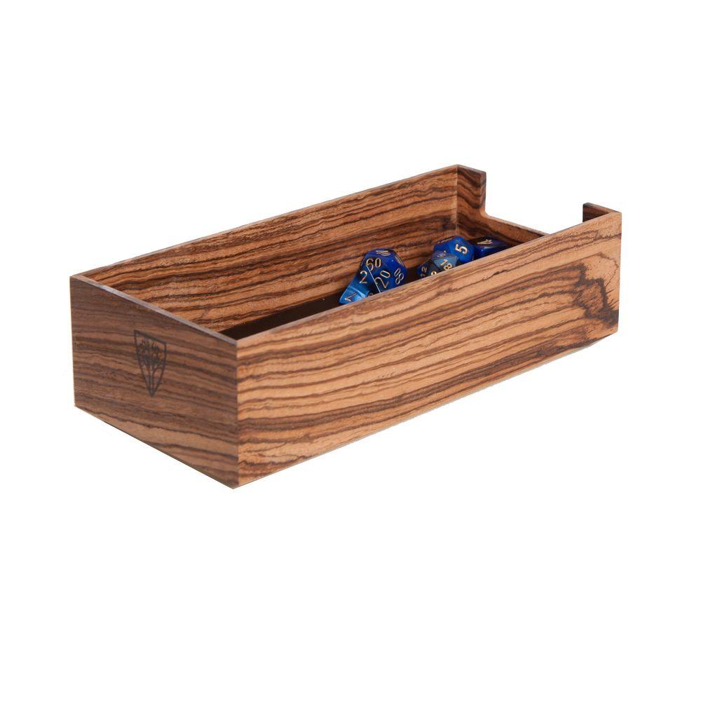 Zebrawood Personal Dice Tray | Wood Nerding | Tray, Bath