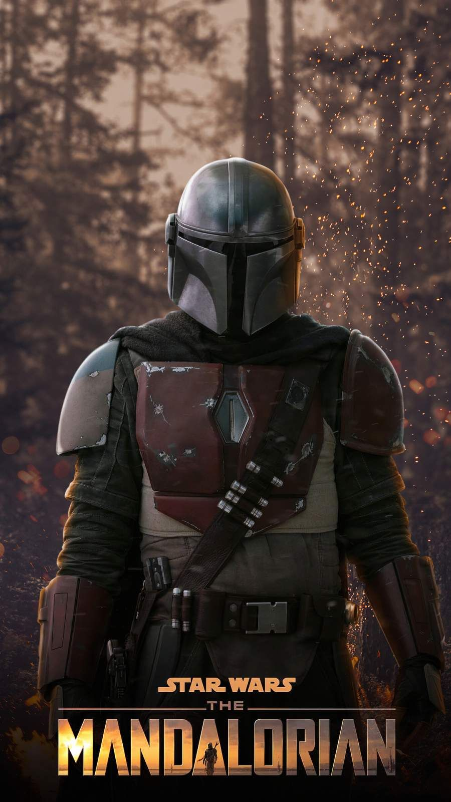 The Mandalorian Iphone Wallpaper In 2020 Star Wars Images Star Wars Poster Star Wars Drawings