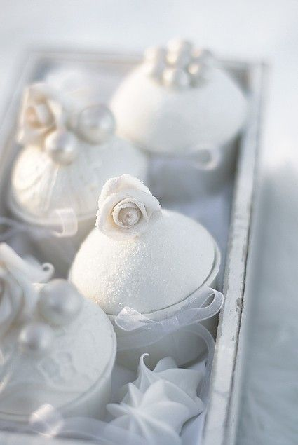White confections