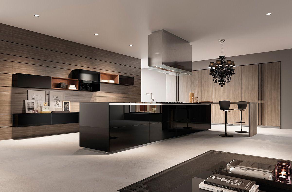 العصرية والفخامة في 10 مطابخ مودرن بتصميمات إيطالية مجلة ديكورات عالم من ديكور المنازل و التصميم الداخل Modern Kitchen Modern Kitchen Design Kitchen Design