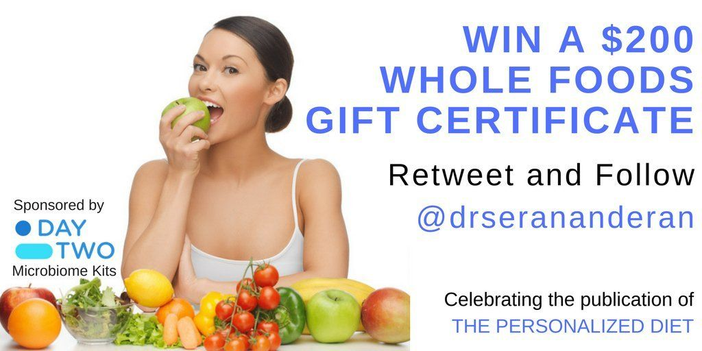 200 whole foods gift certificate giveaway ends 0424