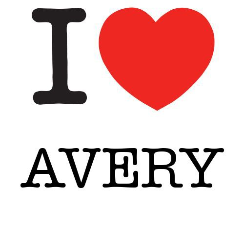 avery my 2nd born i babysat a girl whom had this name and i fell