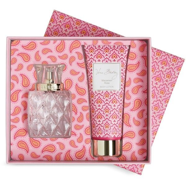 Vera Bradley Eau de Toilette Set 2 pc. in Macaroon Rose ($58) ❤ liked on Polyvore featuring beauty products, fragrance, macaroon rose, eau de toilette fragrance, vera bradley, eau de toilette perfume, edt perfume and fragrance gift sets