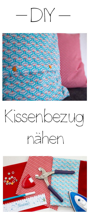 Kissenbezug nähen   naehmaschine.de