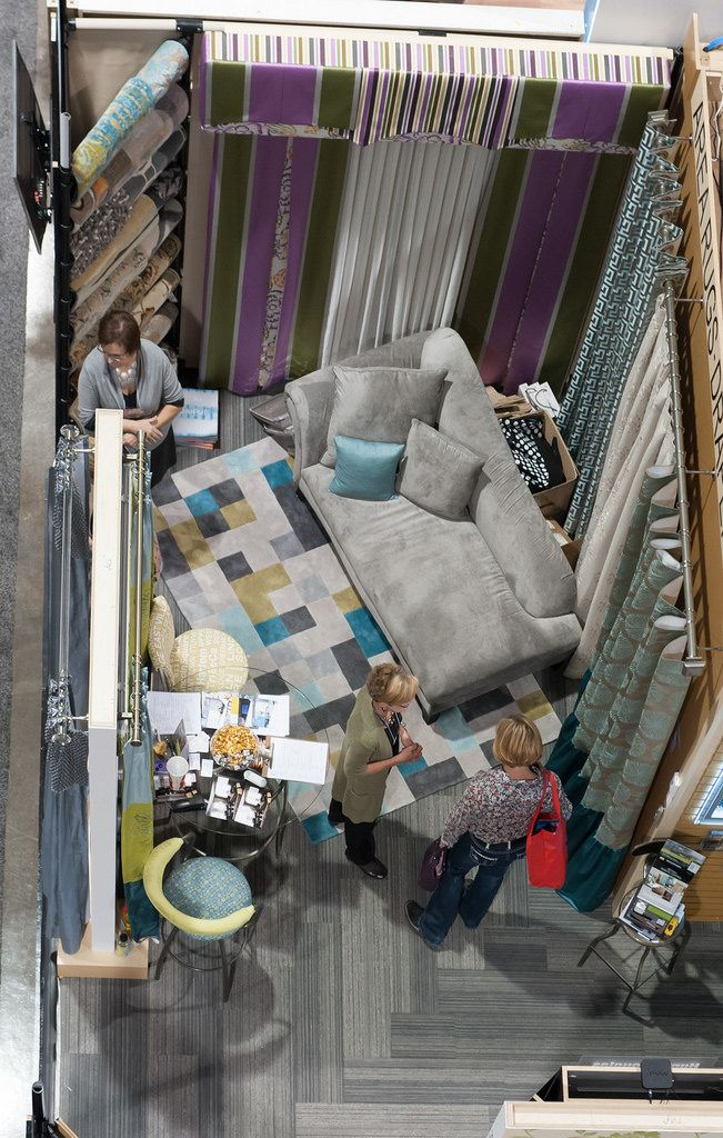 Birdseye View Of Our Living Room Showcase At The Calgary Home And Design Show Http Gicor Ca Home Technology Interior Design Decor