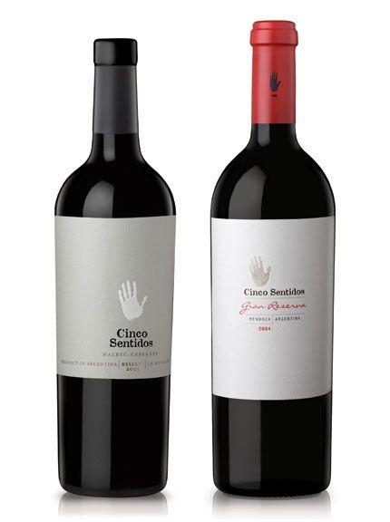 cinco sentidos reserve design wine vinho vino vinosmaximum wine label. Black Bedroom Furniture Sets. Home Design Ideas