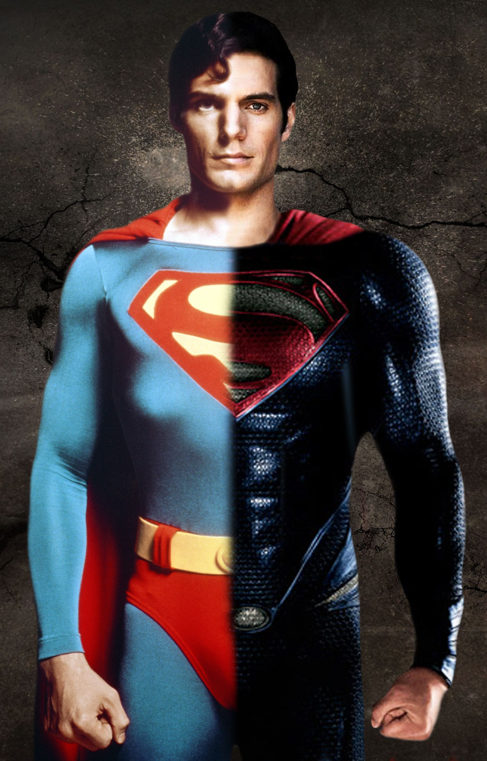 my two favorite supermen! christopher reeves and henry cavil | Manga,  Cyberpunk, Manga anime