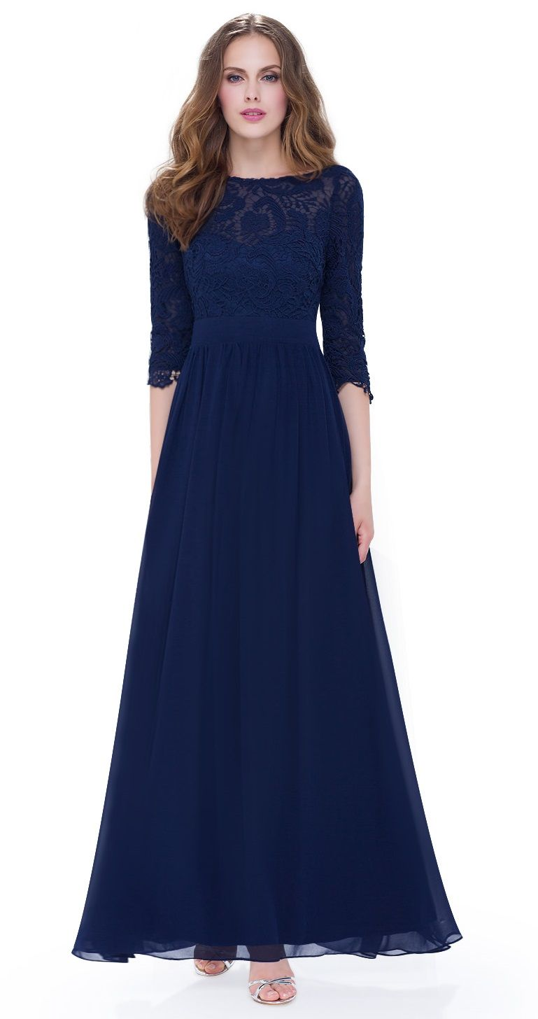 Pin by Marion Kiefer on Abendkleid | Pinterest | Navy blue and Navy