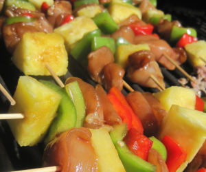 Chicken Teriyaki Kebabs | Positively Cooking