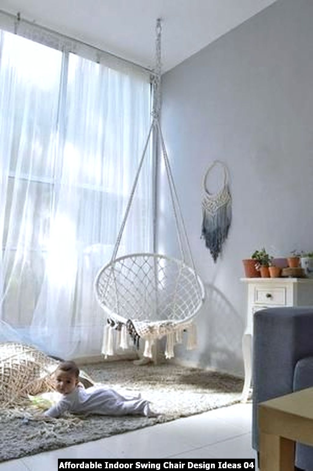 Affordable indoor swing chair design ideas homyhomee in
