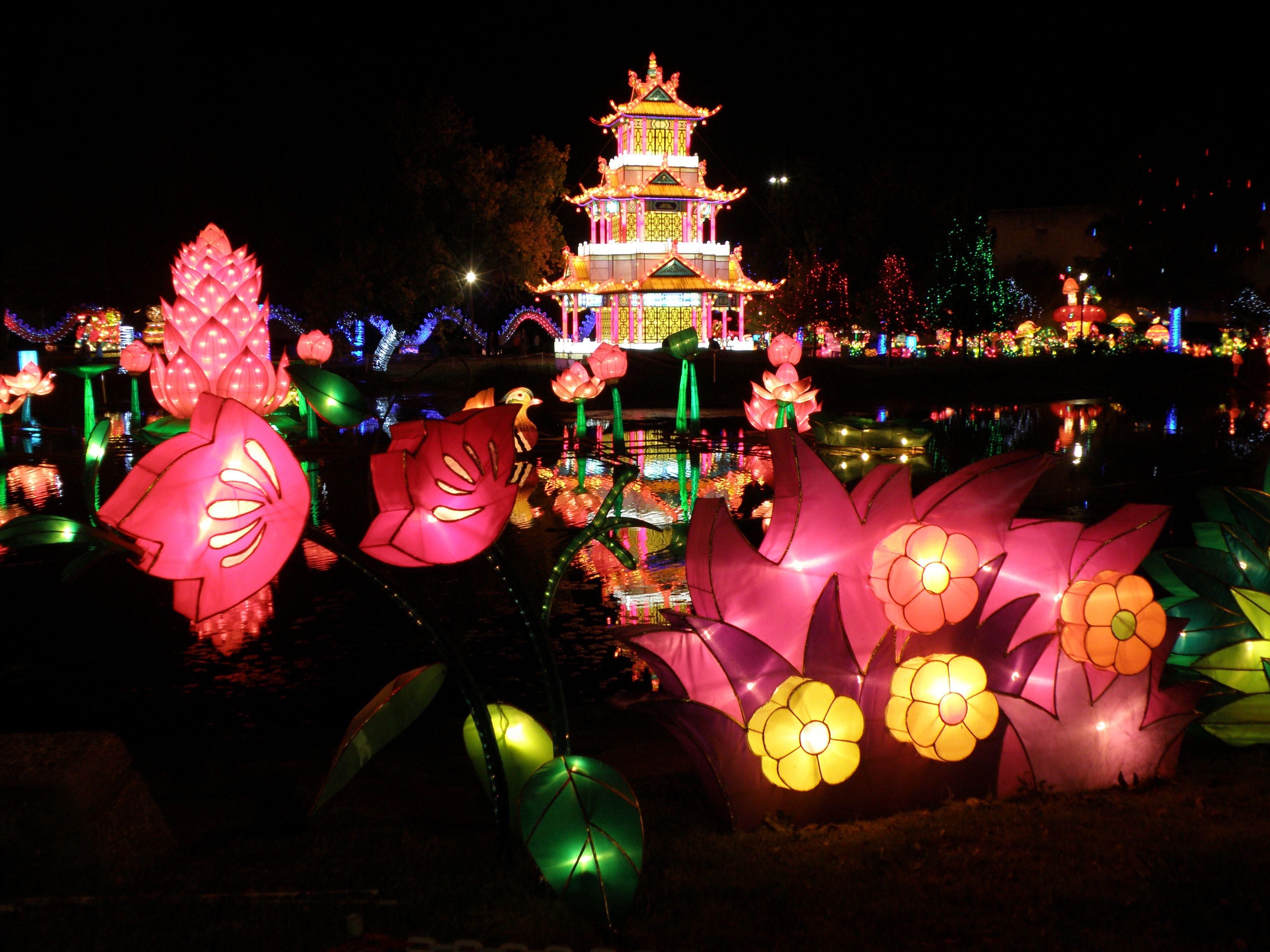 Chinese Lateran Festival.  Fair Park Dallas, Texas 2012