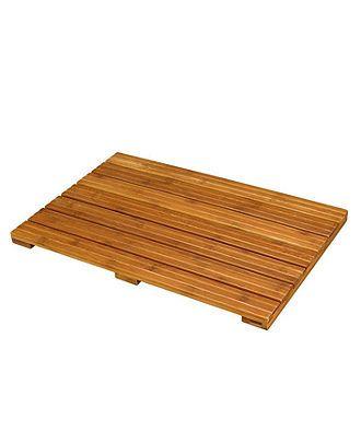 Creative Bath Bamboo Wood Bath Mat Bath Rugs Bath Mats Bed