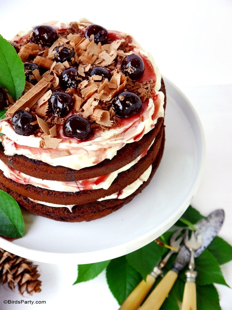 Easy Black Forest Gateau Cake Recipe How sweet eats